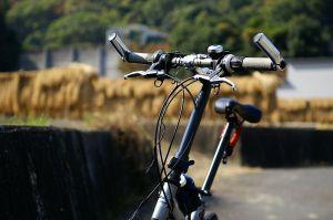 久々、自転車
