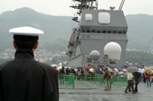 護衛艦「いせ」初見学4