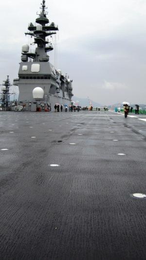護衛艦「いせ」-ヘリ甲板
