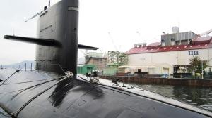 除籍潜水艦「はるしお」