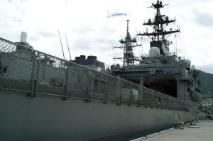 除籍護衛艦「ひえい」