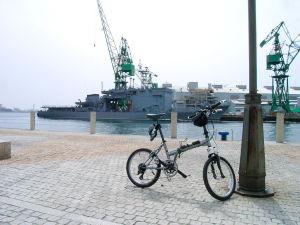 神戸と自転車