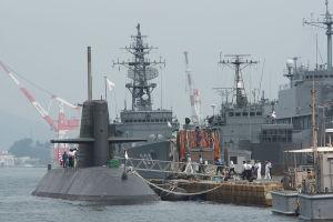 昨日の潜水艦桟橋