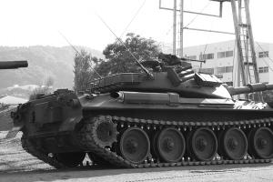 モノクロ戦車