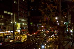 夜の陸橋Photo