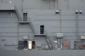 海から呉基地