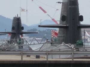 呉の潜水艦