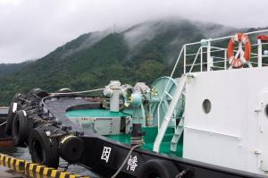 鳥取県境港の船たち