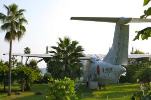 公園の飛行艇