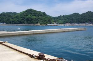 浜田の松原湾