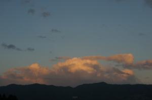 JPEGの夕陽