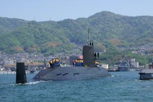 お帰りなさい、潜水艦