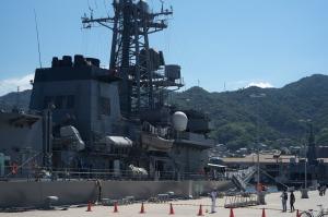 護衛艦「とね」一般公開