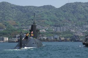 花と潜水艦