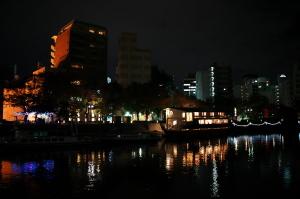 帰り道の夜景