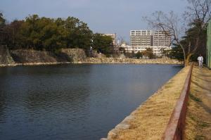 広島城公園へ
