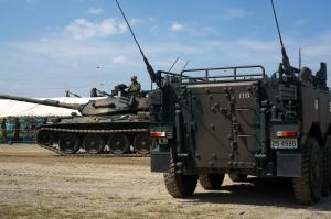 レンズと戦車