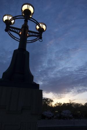 夕暮れの平和公園