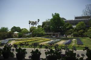 植物公園で