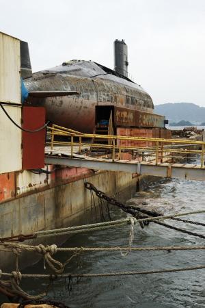 特集・スクラップ潜水艦