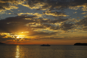 続・沖の夕陽