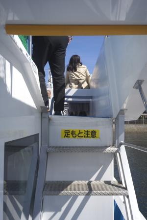 """""""呉艦船めぐり""""観光船"""