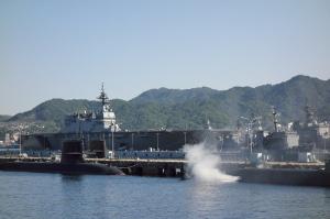 今日の海自呉基地