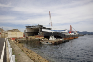 船の解体場