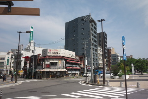 広島駅前界隈