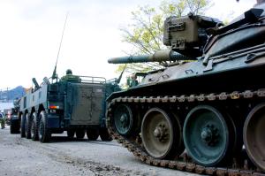 戦車スタート