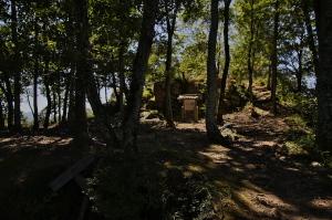 東広島の鏡山城跡へ