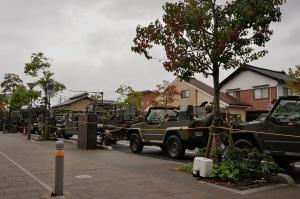 出雲駐屯地の車両
