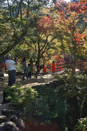 秋の宮島・弥山へ