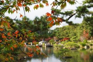 秋色・縮景園
