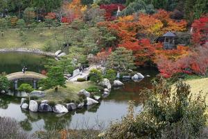 広島県三原市・三景園