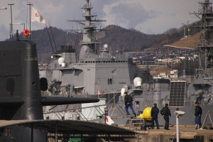 海自支援船 YTとYO