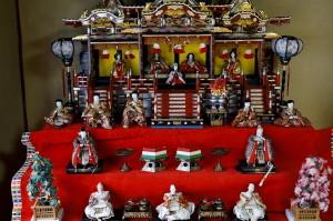 竹原の雛人形