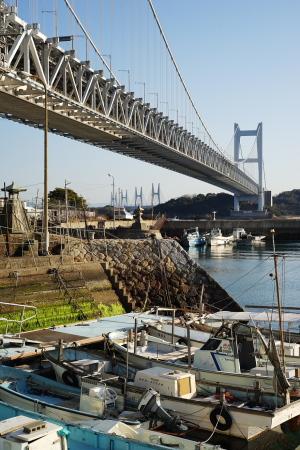 下津井港町