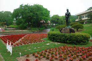 雨の植物公園