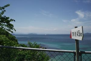 陸奥記念館の海岸