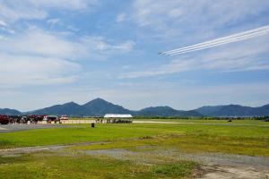 防府北基地航空祭へ