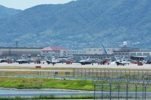 米海兵隊岩国航空基地