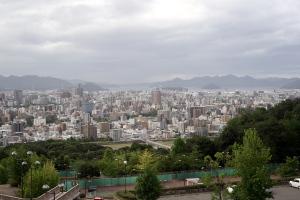 竜王公園からの俯瞰