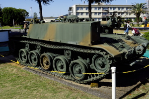 60式自走106ミリ無反動砲