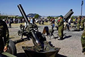 陸自装備展示