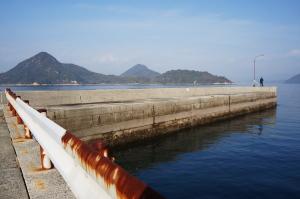 江田島市大須港へ