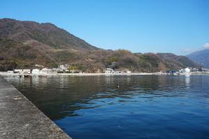 阿賀の釣り場