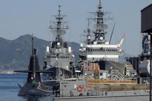潜水艦隊と練習艦隊