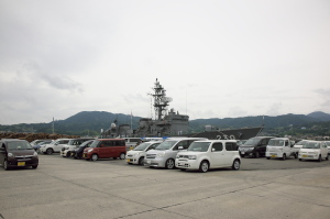 浜田で護衛艦一般公開