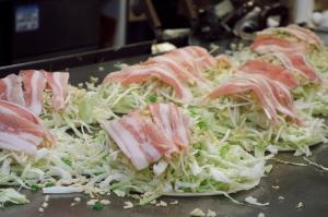 広島式お好み焼き